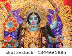 kali  also known as k lik  or...   Shutterstock . vector #1344665885