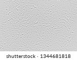 gray stucco wall texture.... | Shutterstock . vector #1344681818