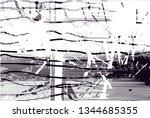 distressed background in black...   Shutterstock . vector #1344685355