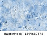 stucco wall texture. background | Shutterstock . vector #1344687578