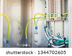 electrical ground wires is... | Shutterstock . vector #1344702605