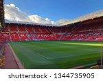 manchester  uk   november 2018  ...   Shutterstock . vector #1344735905