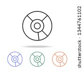 cd icon. elements of simple web ... | Shutterstock .eps vector #1344761102