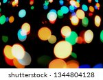 abstract colorful defocused... | Shutterstock . vector #1344804128