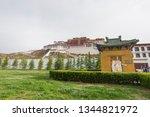 china tibet potala palace   Shutterstock . vector #1344821972