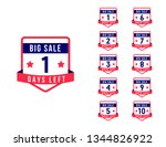sale days left countdown vector ...