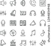 thin line vector icon set  ... | Shutterstock .eps vector #1344854948