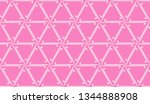 hipster pattern with polygonal...   Shutterstock .eps vector #1344888908