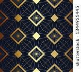 vector modern geometric tiles... | Shutterstock .eps vector #1344925445