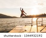 ice house reservoir  ca  usa ... | Shutterstock . vector #1344932192