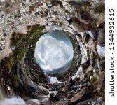mountain waterfall stream in... | Shutterstock . vector #1344932615
