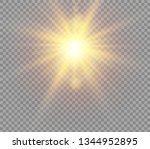 sunlight a translucent special... | Shutterstock .eps vector #1344952895
