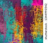 abstract background art. 2d... | Shutterstock . vector #1344993542