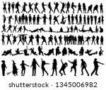 vector on a white background... | Shutterstock .eps vector #1345006982