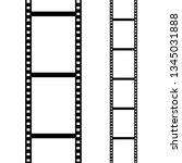 set of film frame  vector... | Shutterstock .eps vector #1345031888