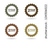 special vector guarantee sign ... | Shutterstock .eps vector #134506022