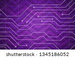 beautiful purple abstract... | Shutterstock . vector #1345186052