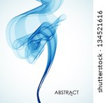 abstract smoke | Shutterstock .eps vector #134521616