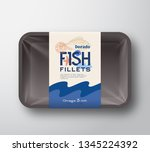 fish fillets pack. abstract...   Shutterstock .eps vector #1345224392