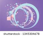 3d figures realistic vector...   Shutterstock .eps vector #1345304678
