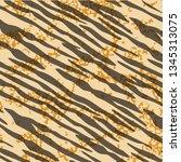 animal print  leopard texture... | Shutterstock .eps vector #1345313075