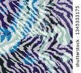 leopard pattern  jaguar pattern ... | Shutterstock .eps vector #1345333175