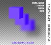 geometric shape. element for...   Shutterstock .eps vector #1345403438