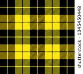 wallace tartan plaid. scottish... | Shutterstock .eps vector #1345450448