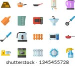 color flat icon set sink flat...   Shutterstock .eps vector #1345455728