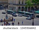 paris  france   april 2 2017  ... | Shutterstock . vector #1345506842