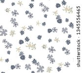 small floral seamless pattern... | Shutterstock .eps vector #1345556465