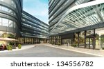 buildings made in 3d | Shutterstock . vector #134556782