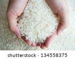 Thai Jasmine Rice On Hand.
