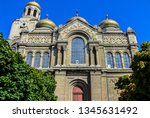 the assumption cathedral of... | Shutterstock . vector #1345631492