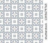 seamless vector pattern in... | Shutterstock .eps vector #1345679765