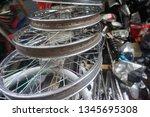 motorcycle wheel alloy | Shutterstock . vector #1345695308