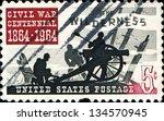 Usa   Circa 1964  A  Stamp...