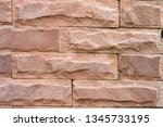 stone background  sand wall... | Shutterstock . vector #1345733195
