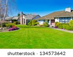 big custom made  luxury house... | Shutterstock . vector #134573642