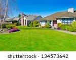 big custom made  luxury house... | Shutterstock . vector #134573642