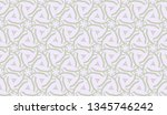 curved line in triangles style. ... | Shutterstock .eps vector #1345746242