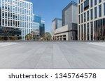panoramic skyline and modern... | Shutterstock . vector #1345764578