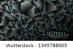 abstract background of... | Shutterstock .eps vector #1345788005