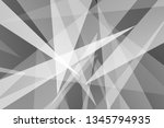abstract black and gray on dark ... | Shutterstock .eps vector #1345794935