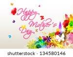 easy to edit vector... | Shutterstock .eps vector #134580146