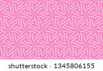 pattern with abstract illusion... | Shutterstock .eps vector #1345806155