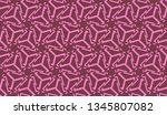 pattern with abstract illusion... | Shutterstock .eps vector #1345807082