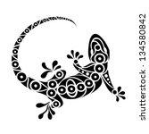 Tattoo Illustration Of A Triba...