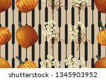 printable seamless pattern of... | Shutterstock . vector #1345903952
