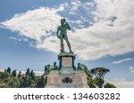 David Statue At Piazzale...